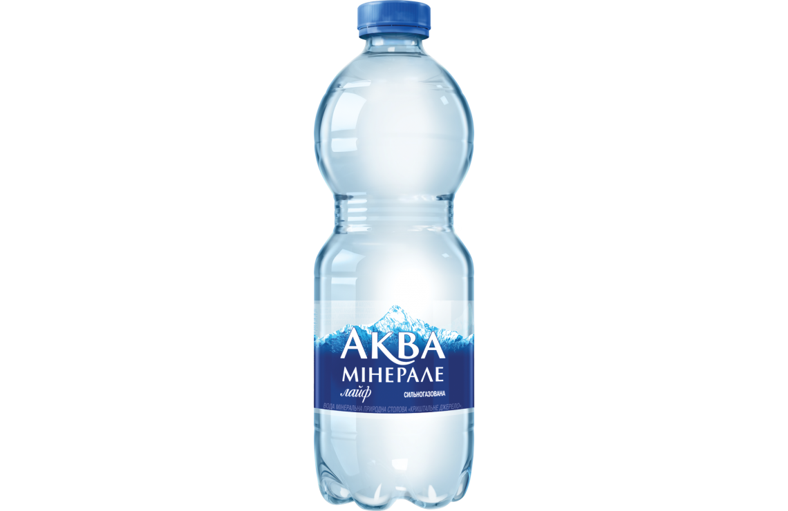 Вода Аква Мінерале Газована 0.5